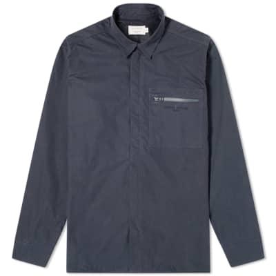 Maison Kitsuné Zip Shirt