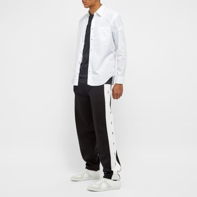 Neil Barrett Lightning Bolt Taped Track Pant