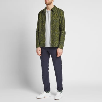 57059f65274 A.P.C. Jungle Print Zip Shirt Jacket A.P.C. Jungle Print Zip Shirt Jacket