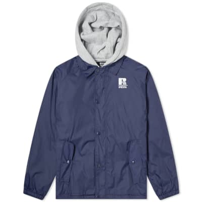 PACCBET x Russell Athletic Reversible Coach Jacket