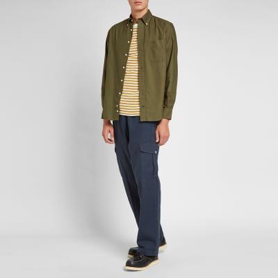 Gitman Vintage Button Down Overdyed Oxford Shirt