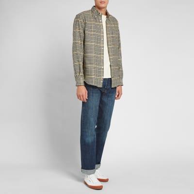 Gitman Vintage Cotton Houndstooth Tweed Shirt