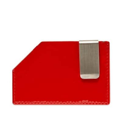 A-COLD-WALL* Die Cut Patent Card Holder