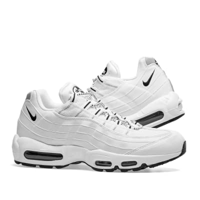 ca0423c50ea Nike Air Max 95 White   Black