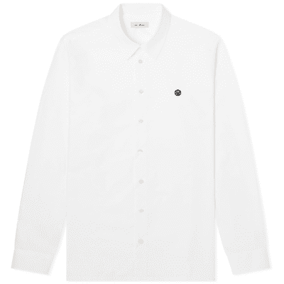 Raf Simons Embroidered Smiley Regular Fit Shirt