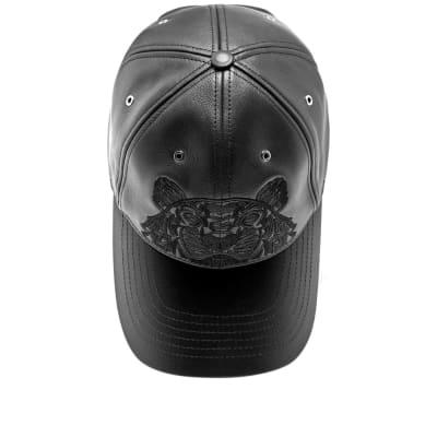 990228ada6736 Kenzo Leather Tiger Cap Kenzo Leather Tiger Cap