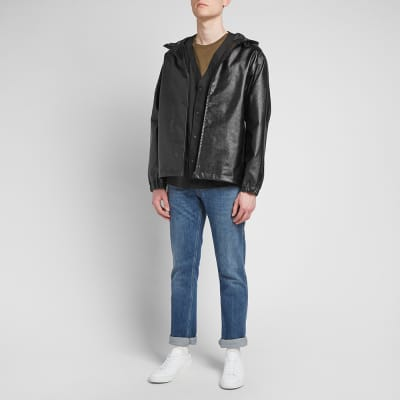A.P.C. Coated Short Parka Jacket
