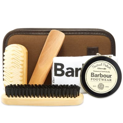 Barbour Shoe Care Kit