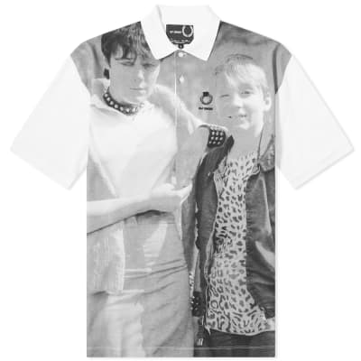 Fred Perry x Raf Simons All Over Print Polo