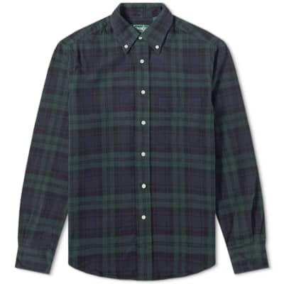Gitman Vintage Shaggy Brushed Oxford Shirt