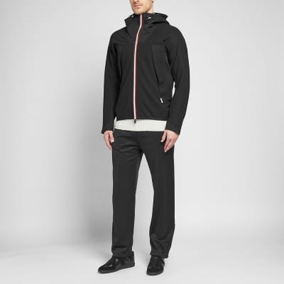 Moncler Grenoble Tricolore Zip Soft Shell Jacket