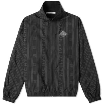 Givenchy Jacquard Logo Track Jacket ... 7a4699f868
