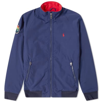 77f538b4fcc Polo Ralph Lauren Lined Harrington Jacket ...