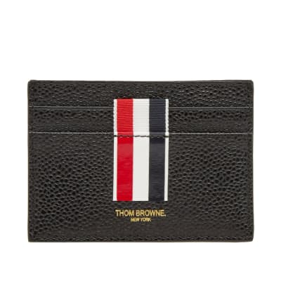 Thom Browne Stripe Single Card Holder