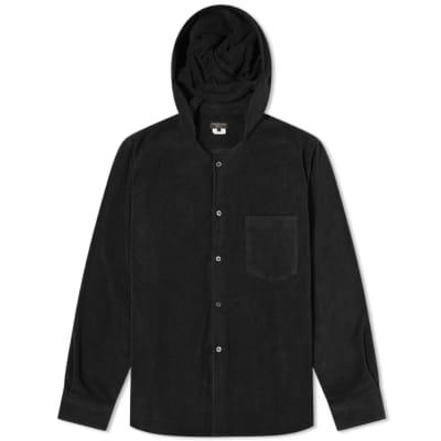 Comme des Garcons Homme Plus Hooded Fleece Overshirt