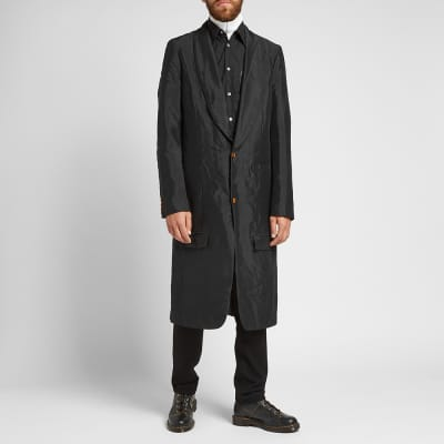 Comme des Garcons Homme Plus Single Breasted Overcoat