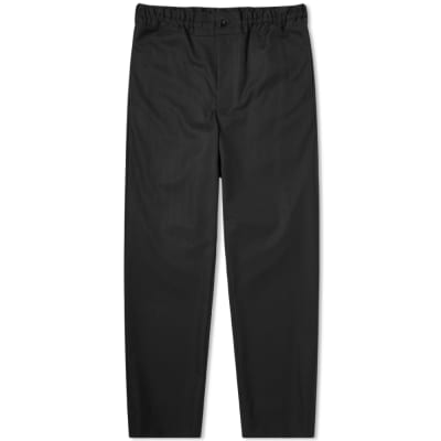 Comme des Garcons Homme Plus Wool Shadow Check Drawstring Trouser