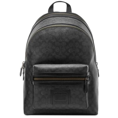 Coach Signature Academy Leather Backpack