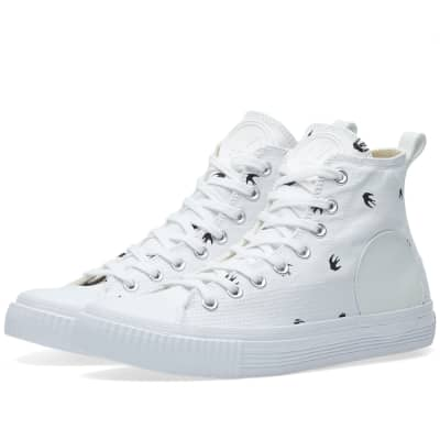 McQ by Alexander McQueen Swallow High Plimsoll