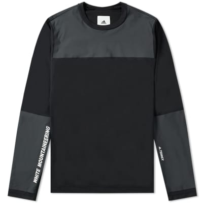 Adidas x White Mountaineering Terrex Long Sleeve Agravic Bonded Tee ... 24b61d28a9