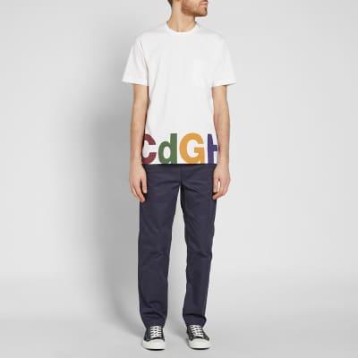 Comme des Garcons Homme Logo Pocket Tee