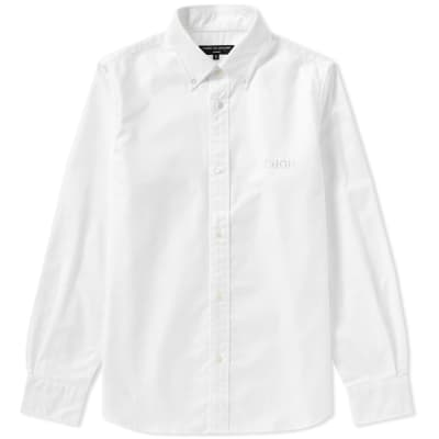 Comme des Garcons Homme Embroidered Logo Oxford Shirt