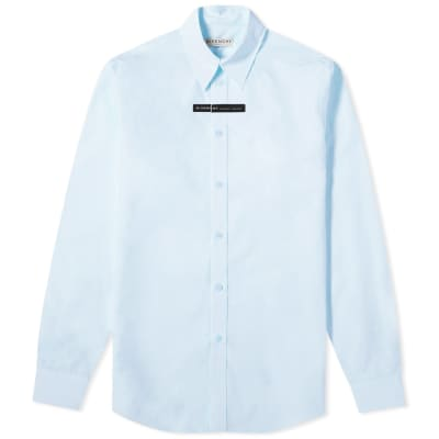 Givenchy Tape Logo Poplin Shirt
