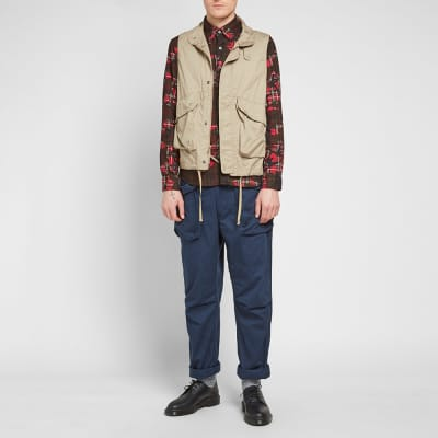 5652a956bdae Engineered Garments Twill Field Vest Engineered Garments Twill Field Vest