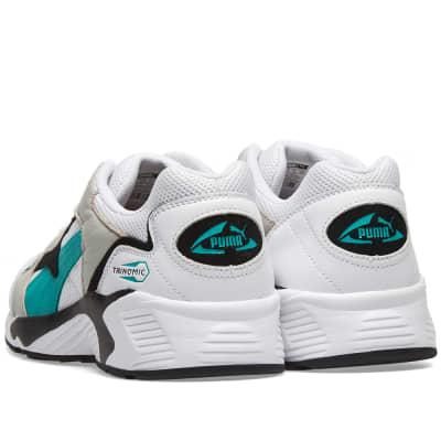buy popular 6a767 f87fa Puma Prevail White   Green