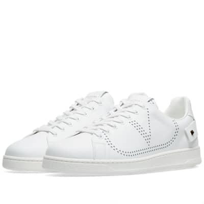 ee68a7bf97e4ba Valentino Net Go Logo Sneaker ...