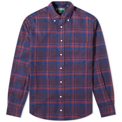 Gitman Vintage Flannel Check Shirt