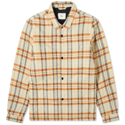 Folk Padded Check Overshirt