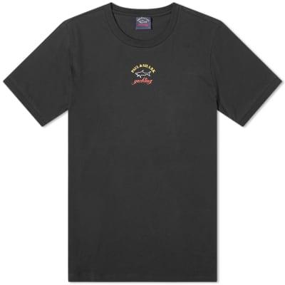 Paul & Shark Chest Print Logo Tee