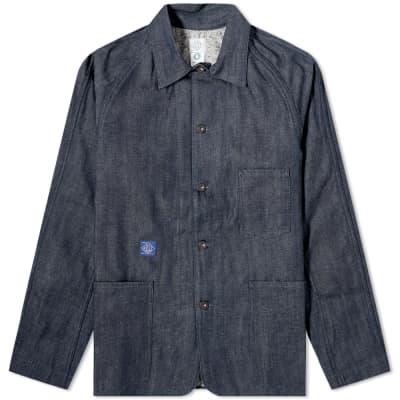 Post Overalls Denim 41-R Railroad Jacket
