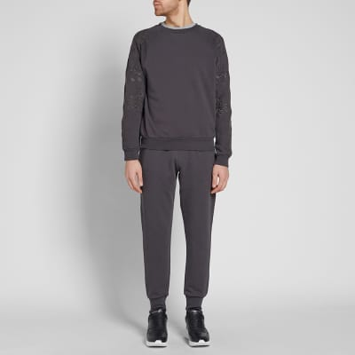 Dries Van Noten Huskins Embroidered Sleeve Sweat