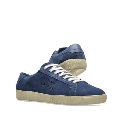 Saint Laurent SL-06 Signature Distressed Sneaker