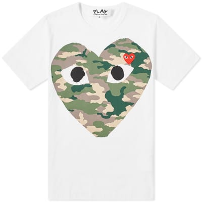 6fb5cf8f45379 Comme des Garcons Play Heart Tee ...