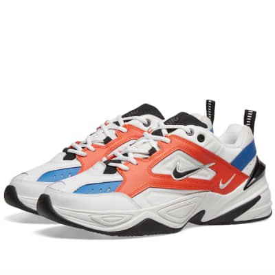online retailer fd942 d5ace Nike M2K Tekno White, Black, Orange   Blue