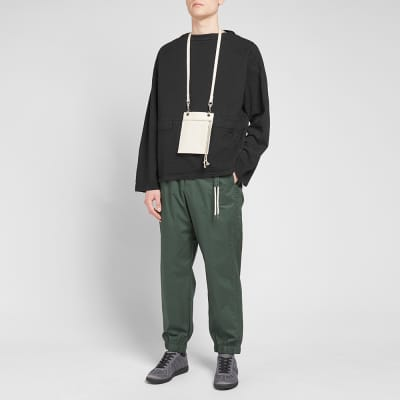 Craig Green Line Stitch Slash Neck Jacket