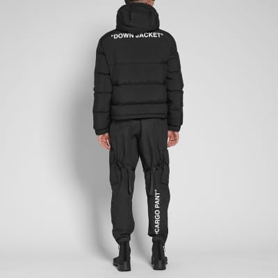 Off-White Quote Puffer Jacket