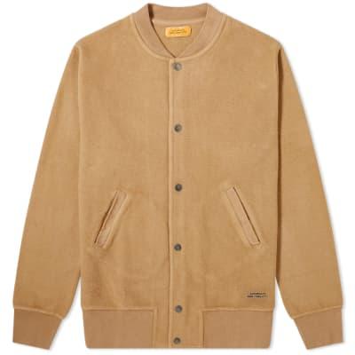 Saturdays NYC Wray Varsity Sweat Jacket