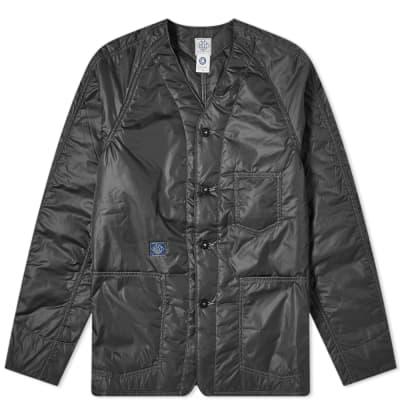 Post Overalls Padded Nylon Liner Jacket
