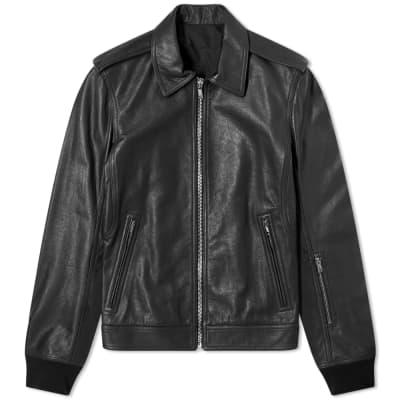Rick Owens Rotterdam Leather Jacket
