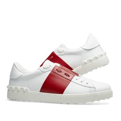 5c475cfbf0797a Valentino Open Low Top Sneaker Valentino Open Low Top Sneaker