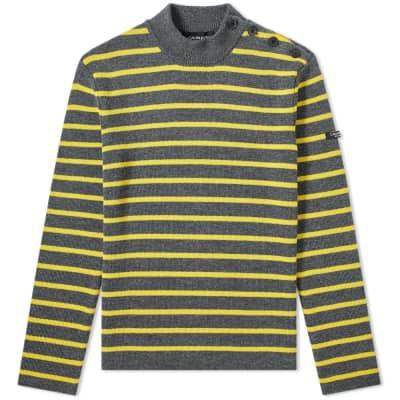 Calvin Klein 205W39NYC Breton Stripe Crew Knit