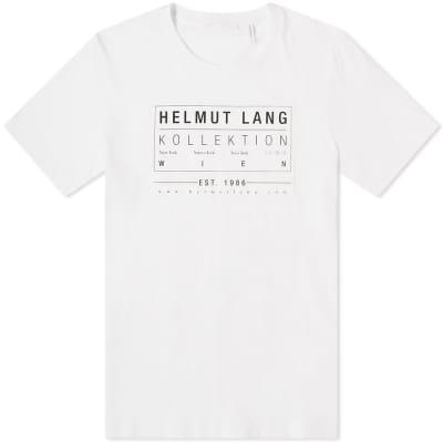 quality design 4fb8b 9f58b Helmut Lang Kollection 1986 Patch Print Tee ...