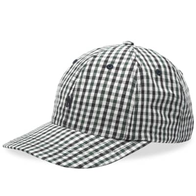 70616245e69d3 Norse Projects Gingham Sports N Logo Cap ...