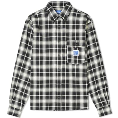 PACCBET Check Pocket Shirt