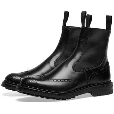 Tricker's Henry Brogue Chelsea Boot