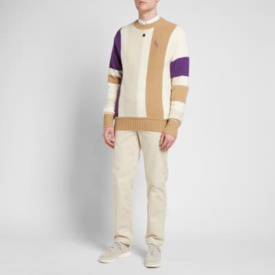 Aimé Leon Dore Vertical Stripe Knitted Sweat